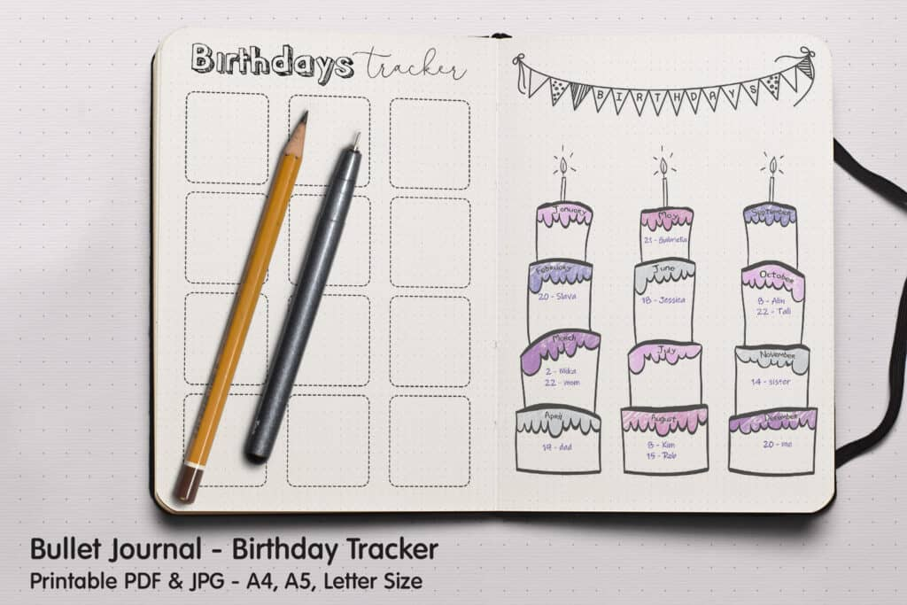 Birthday Tracker 1.1 1024x683 - Birthday Tracker 1