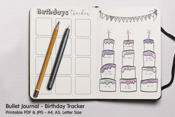 Birthday Tracker 1
