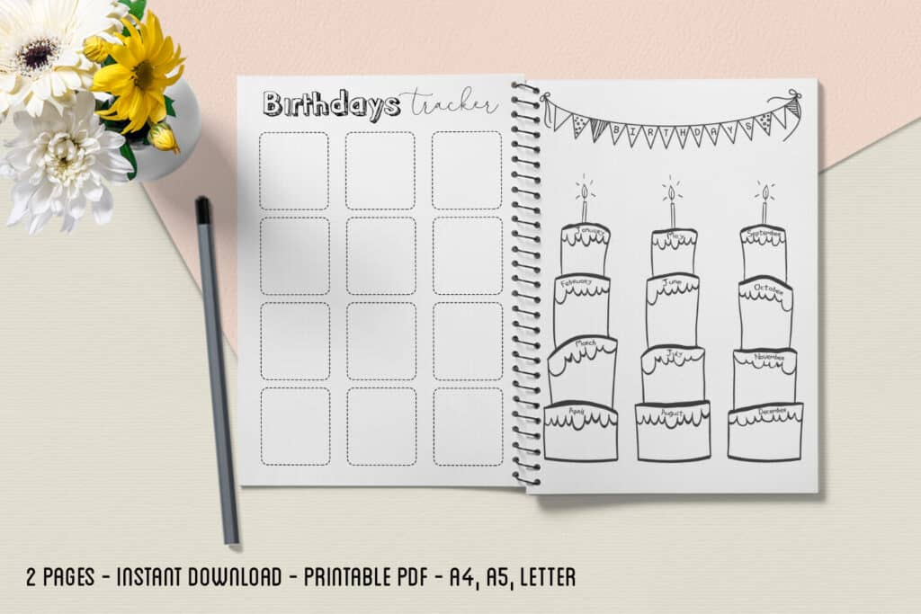 Birthday Tracker 1.2 1024x683 - Birthday Tracker 1