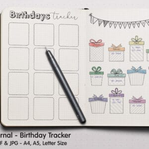 Birthday Tracker 2