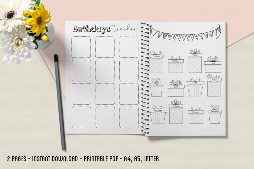 Birthday Tracker 2.2 1024x683 - Birthday Tracker 2