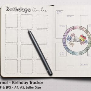Birthday Tracker 3