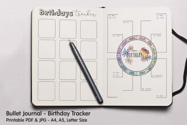 Birthday Tracker 3