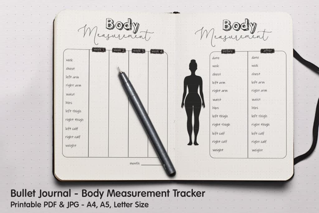 Body Measurement Tracker 1 1024x683 - Body Measurement Tracker