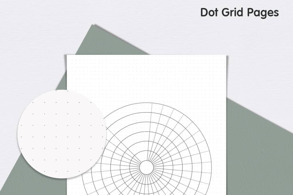 Circle Tracker 03 1024x683 - Habit Circle Tracker Planner