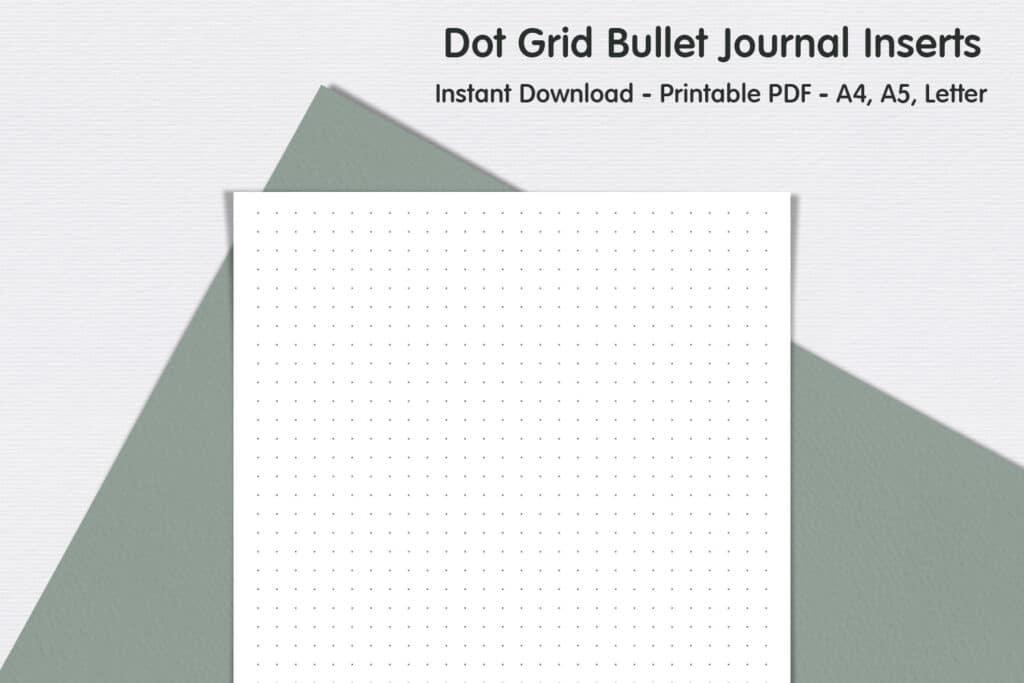 Dot Grid Page Bullet Journalprevie 1024x683 - Dot Grid Page - Bullet Journal