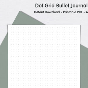 Dot Grid Page Bullet Journalprevie 300x300 - Dot Grid Page - Bullet Journal