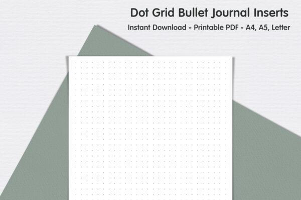 Dot Grid Page – Bullet Journal