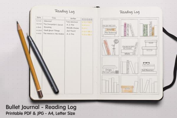 Book Tracker Planner 1