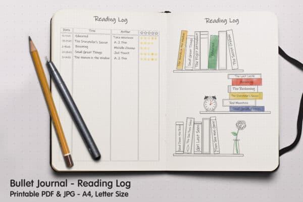 Book Tracker Planner 2