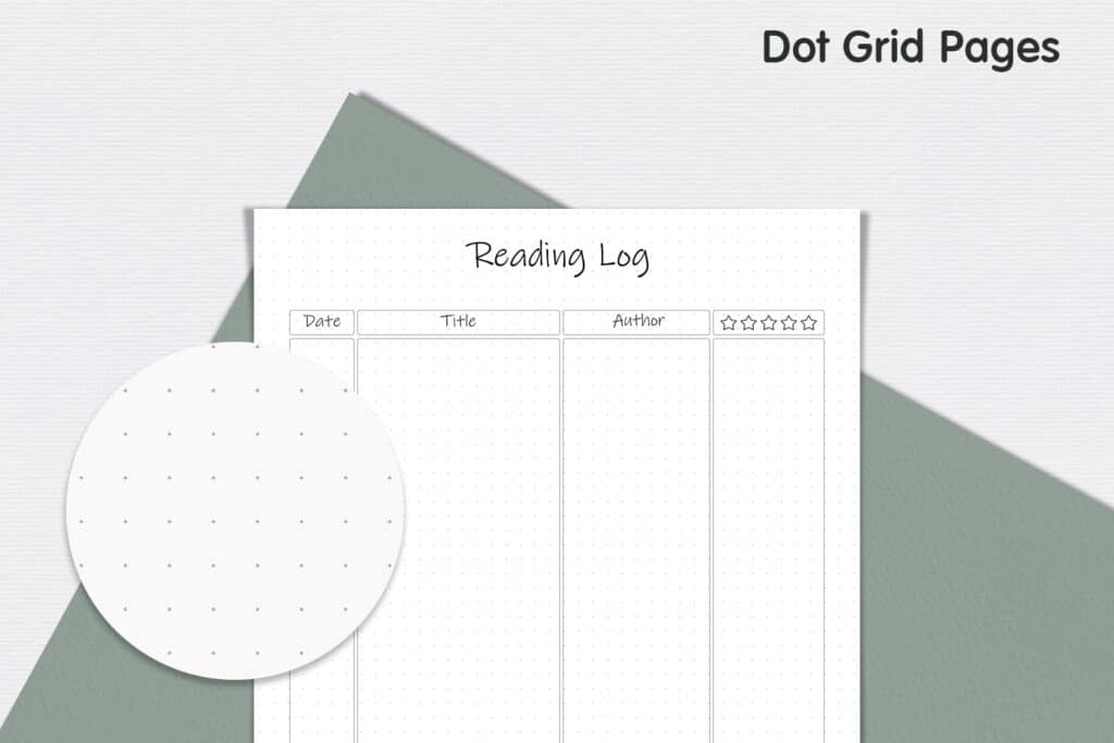 Reading Log 3 1024x683 - Book Tracker Planner 1