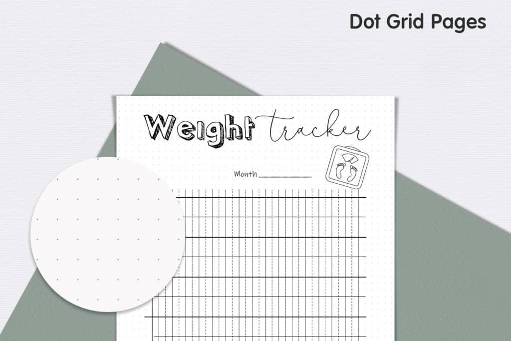 Weight Tracker 3 1024x683 - Weight Loss Tracker Planner