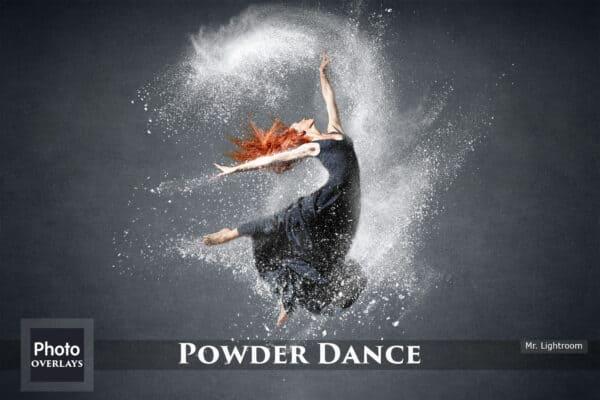 105 White powder overlays