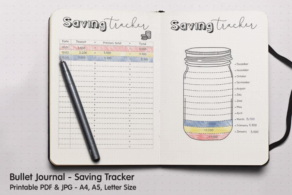 prv Savings Tracker 1 1024x683 - Saving Tracker Planner