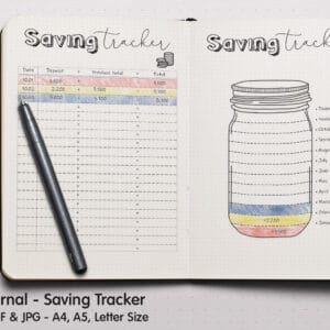 prv Savings Tracker 1 300x300 - Saving Tracker Planner