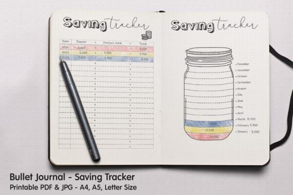 Saving Tracker Planner