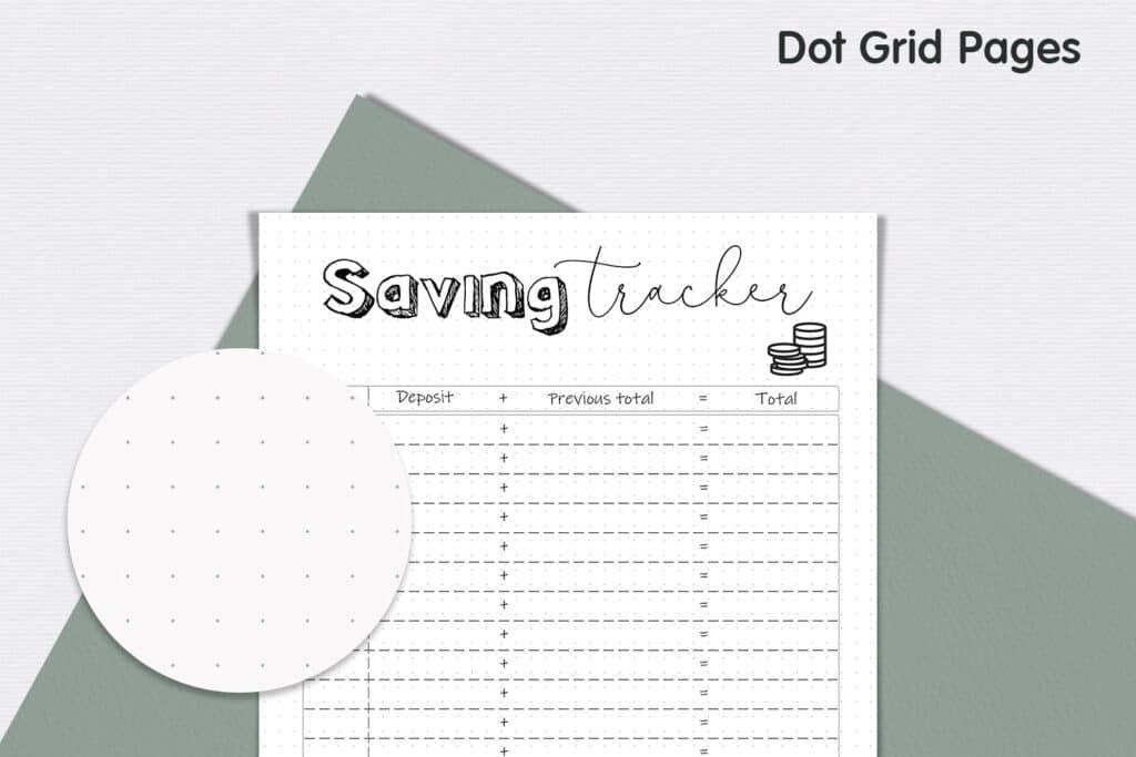prv Savings Tracker 3 1024x683 - Saving Tracker Planner
