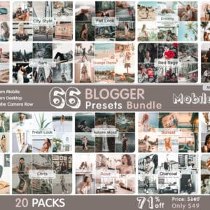 Bundle prv 1 300x300 - MrLightroom Lightroom Desktop and Mobile Presets bundle