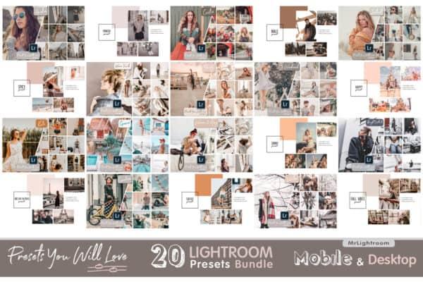 Lightroom Presets You Will Love bundle