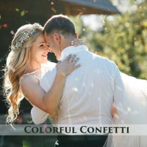 64 Colorful Confetti Overlays