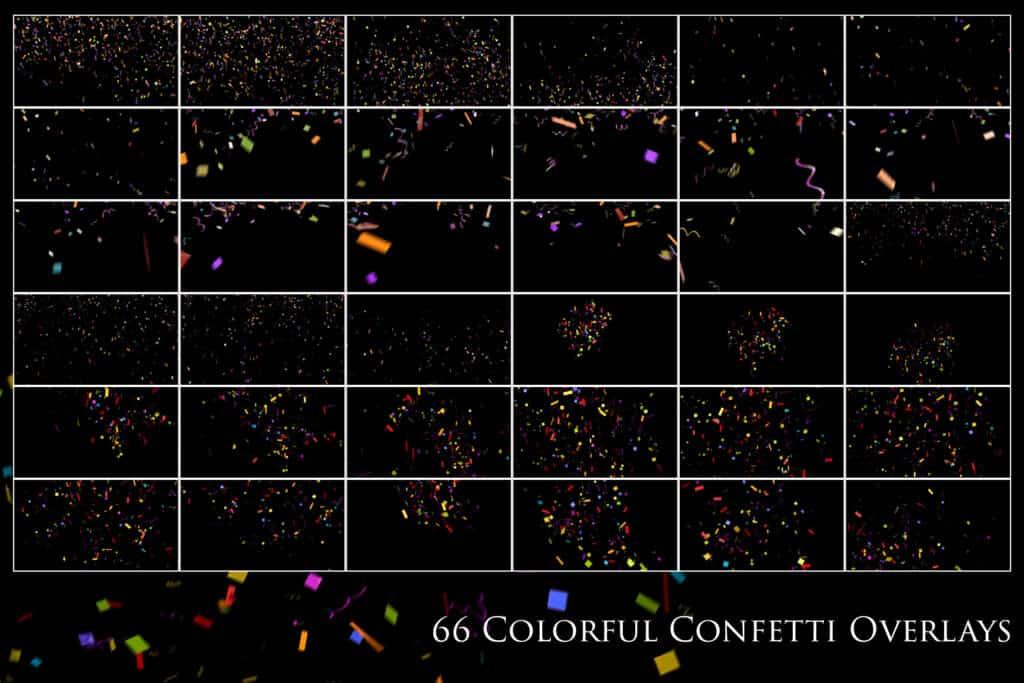 Colorful Confetti 3 1024x683 - 64 Colorful Confetti Overlays