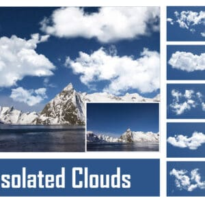 Isolated Clouds 300x300 - Isolated Clouds Overlays