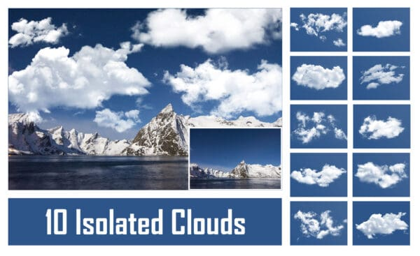 Isolated Clouds Overlays