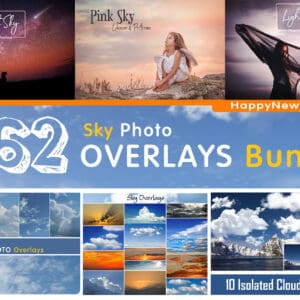 262 Sky Bundle Photo Overlays