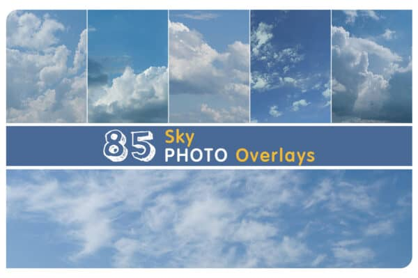 85 Sky Cloud Overlays