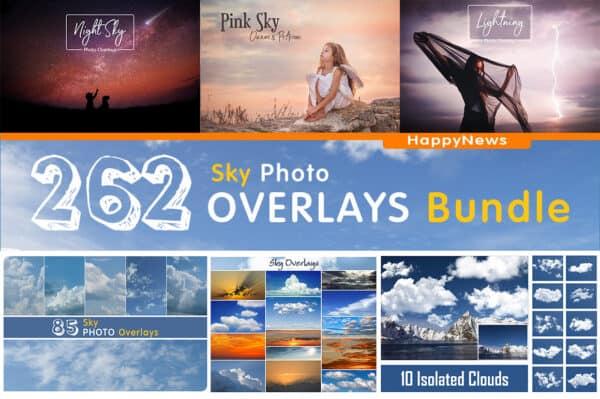 262 Sky Bundle Photo Overlays