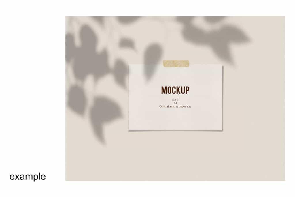 prv5 2 1024x683 - Poster Mockup 5x7 Landscape