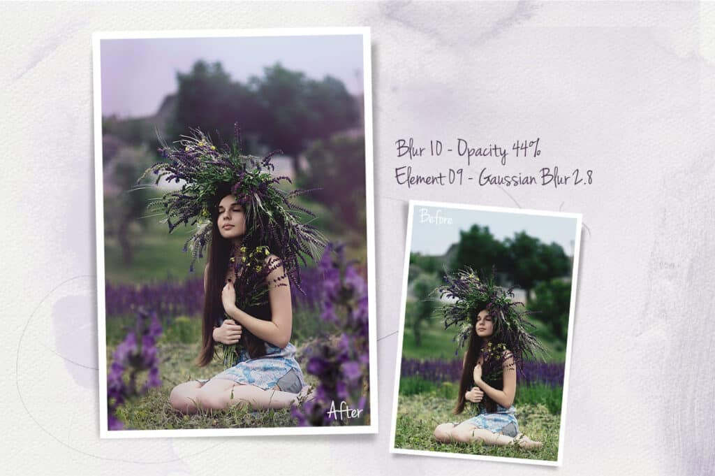 prv6 2 1024x681 - Lavender Photoshop Overlays