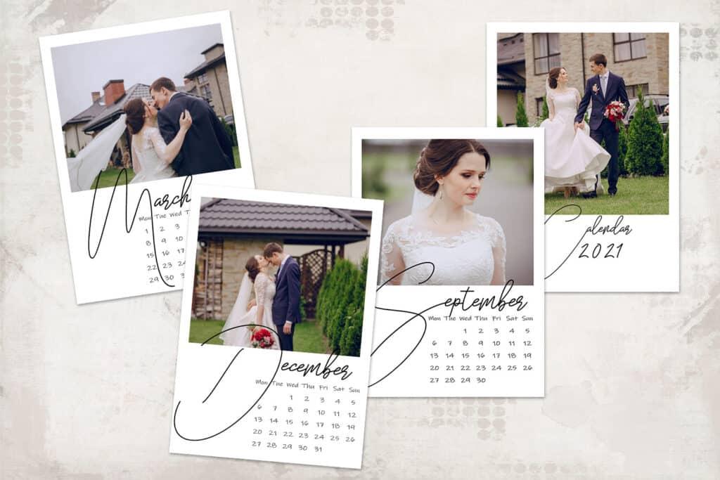 2021 prv 2 1024x683 - 2021 Calendar Template, Monday start 5x7