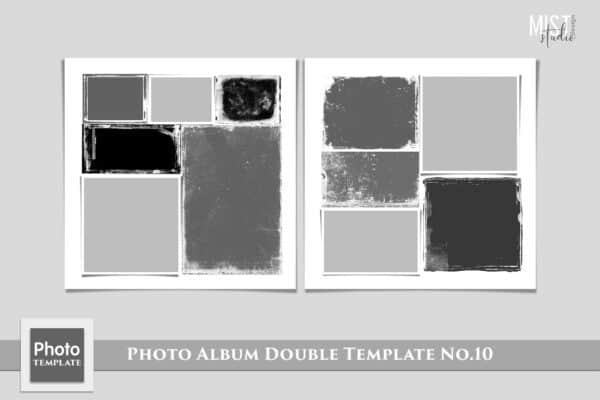 Photo Album Double Template No.10