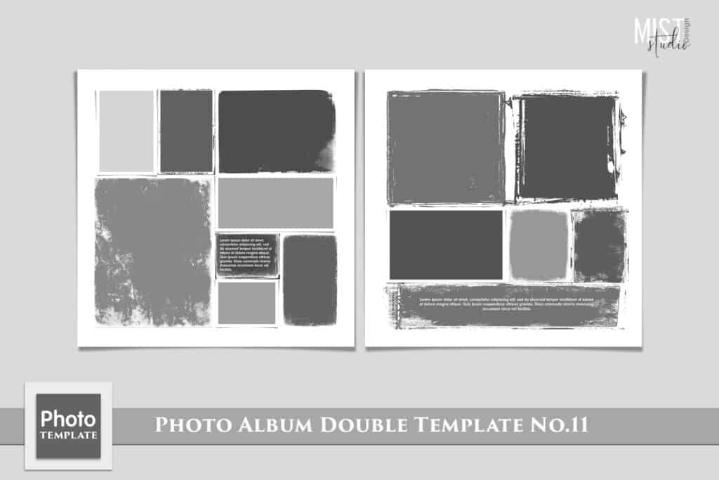 Photo Album Double Template No.11 1024x683 - Photo Album Double Template No.11