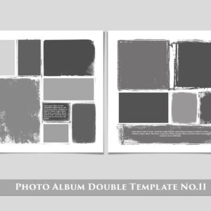 Photo Album Double Template No.11 300x300 - Photo Album Double Template No.11