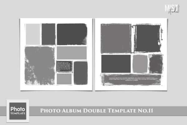 Photo Album Double Template No.11