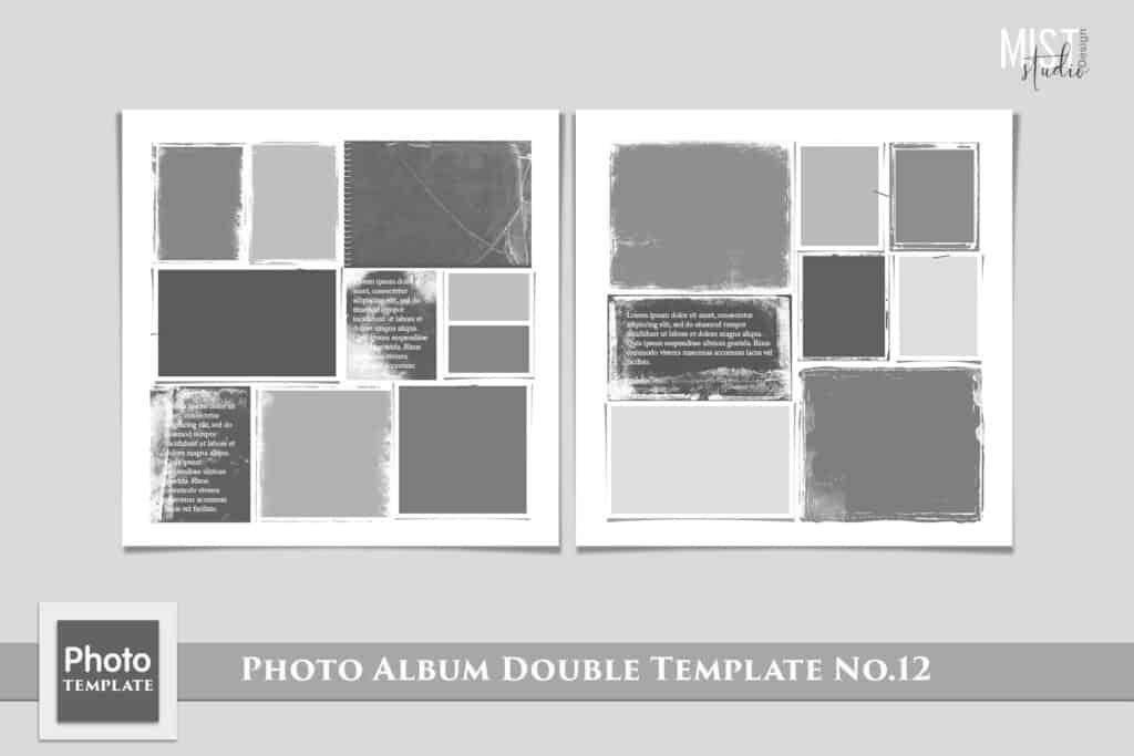 Photo Album Double Template No.12 prv 1 1024x683 - Photo Album Double Template No.12