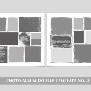 Photo Album Double Template No.12 prv 1 300x300 - Photo Album Double Template No.12