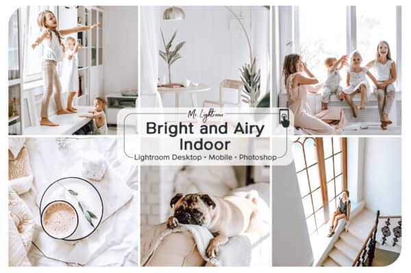 Bright and Airy Indoor Presets