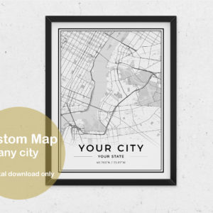 prv custom1 300x300 - Custom City Map Digital Poster