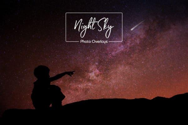 Night Sky Overlays